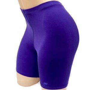 Nike Vintage Purple Spandex Athletic Shorts